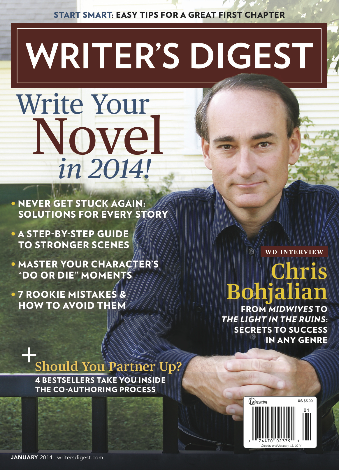 Writers Digest Cover